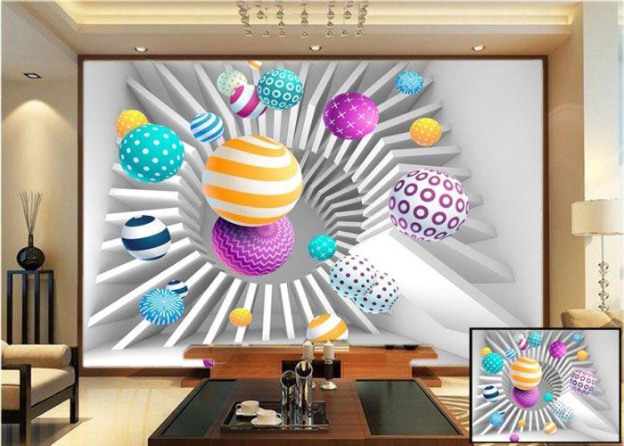 3d colourful balls