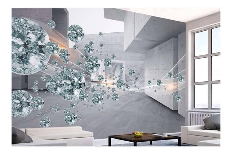 3D Crystal ball Abstract