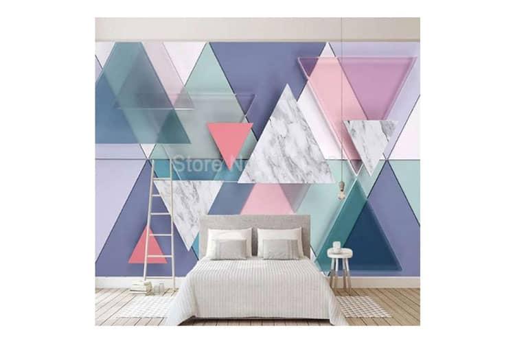 3D Triangle Geometric Marble