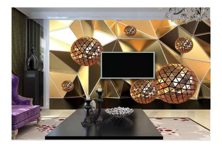 3D circle wall mual