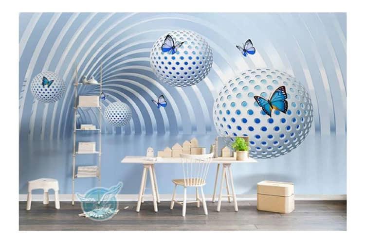 3D wall mural