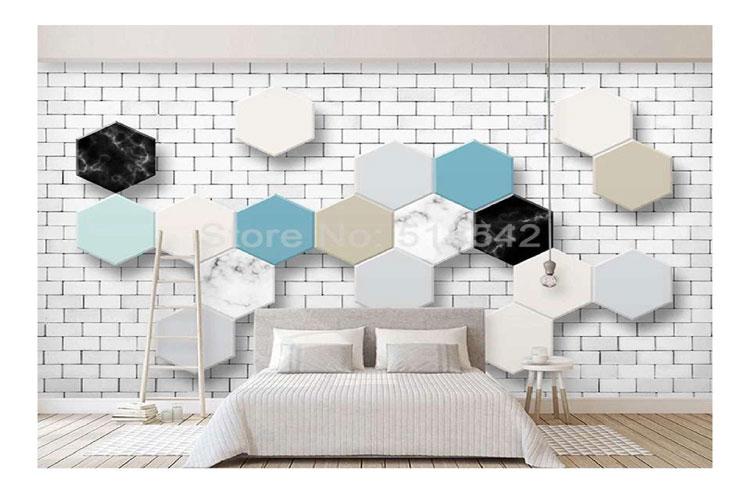 Brick-geometric-living-room