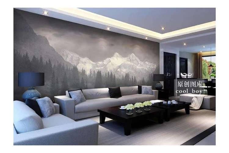 Custom Snow mountain