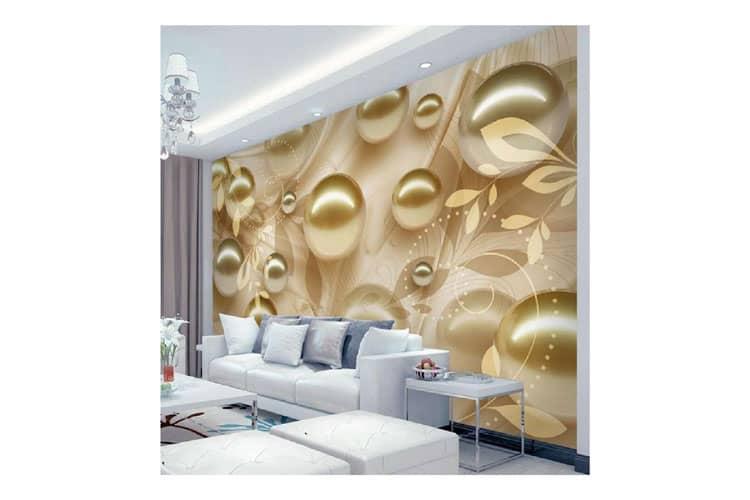 Golden Pearl wall Mural