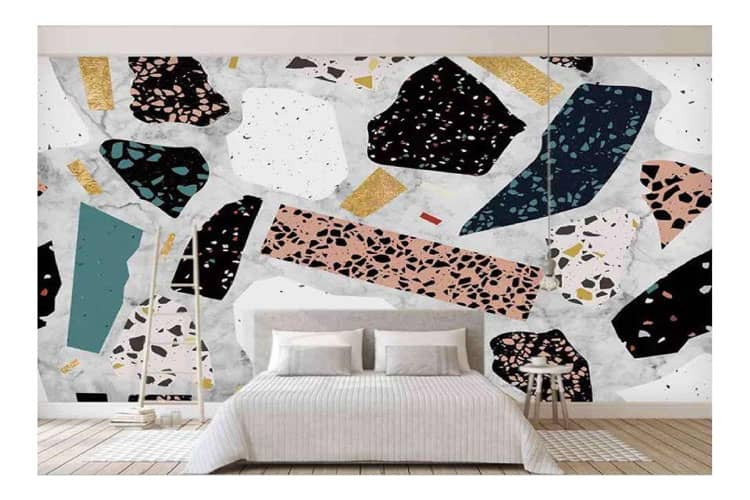 Marble design wall mural