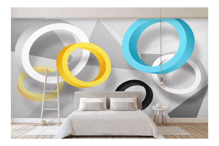 Wooden-3D-circles