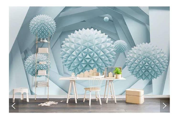 ball wall mural