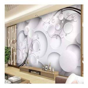3D-circle-wall-mural