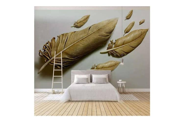 3D-gold-feather