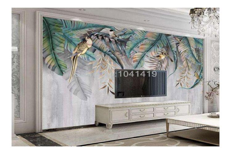 3d-wallpaper-plant-leaf-flo