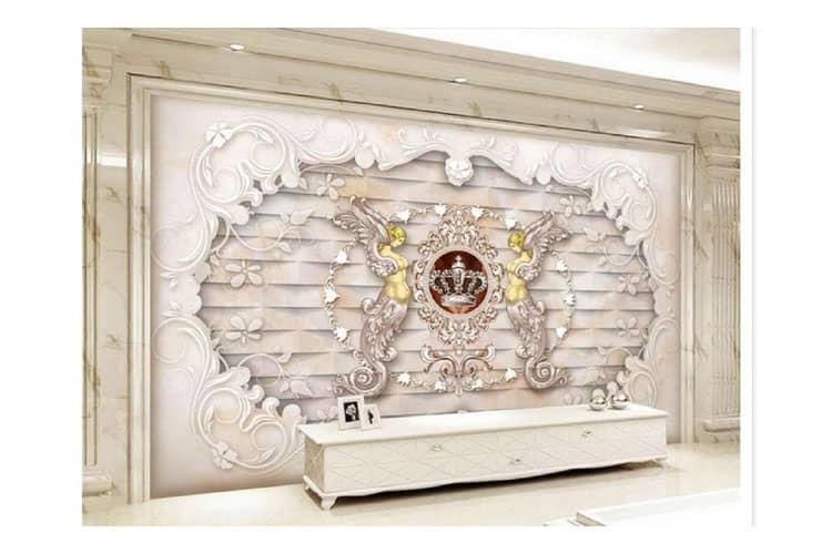 Angel-goddess-marble-background