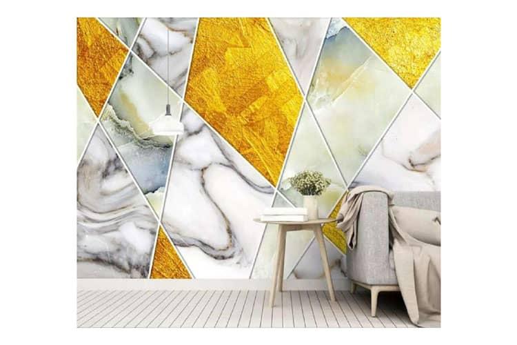 Biloba-leaves-mural-wallpaper