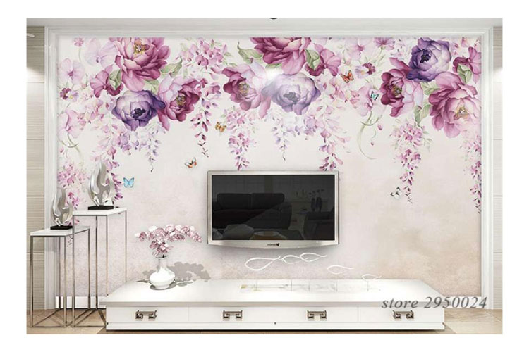 Hand-Painted-Violet-Peony-F