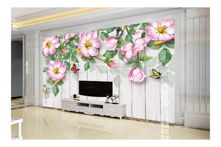 Hand-painted-rose-flower-ae