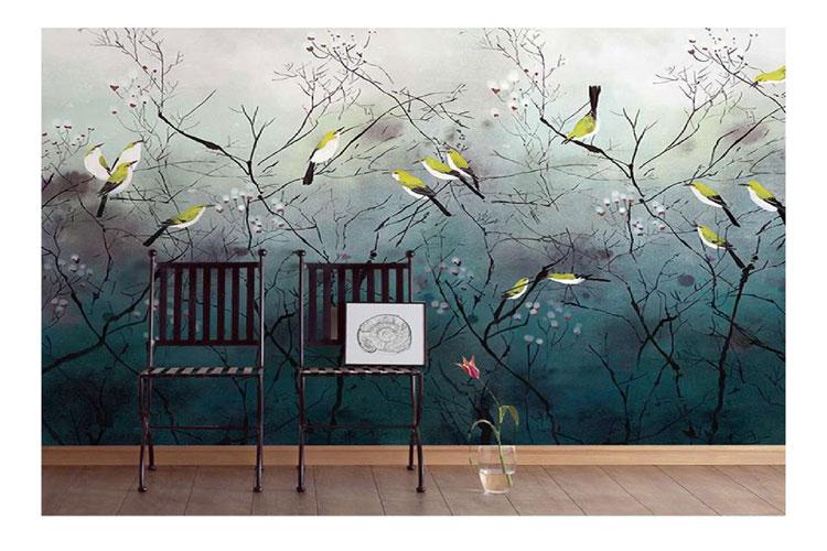 Mural-bird-wall-mural
